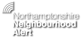Northamptonshire Neighbourhood Alert Header Image